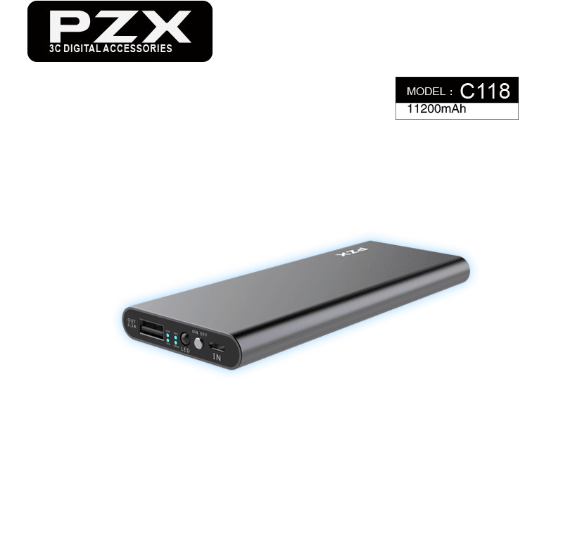 C118 Power Bank 11200Mah